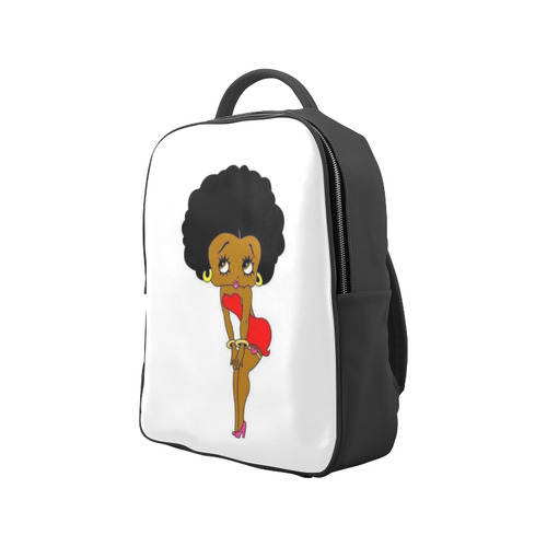 Black Betty Boop Popular Backpack (Model 1622)