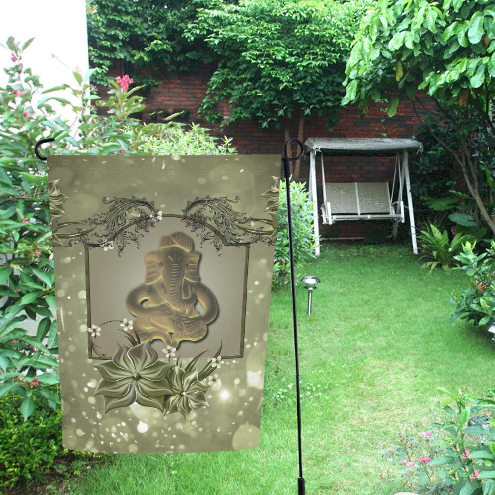 The indian elephant Garden Flag 12''x18''(Without Flagpole)