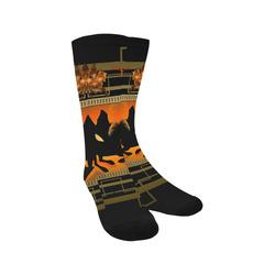 Unicorn silhouette Trouser Socks