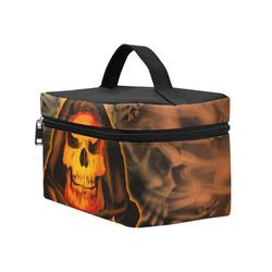 The skulls Cosmetic Bag/Large (Model 1658)