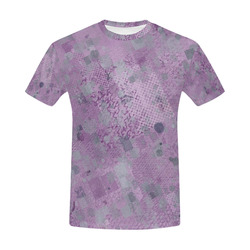 trendy abstract mix A by FeelGood All Over Print T-Shirt for Men (USA Size) (Model T40)