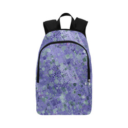 trendy abstract mix B by FeelGood Fabric Backpack for Adult (Model 1659)