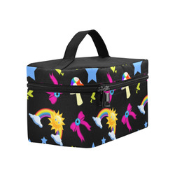 Super Bright Kawaii Rainbow Print Lunch Bag/Large (Model 1658)
