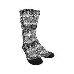 sugar skull Trouser Socks
