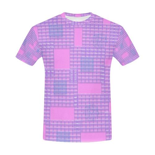 BubbleGum All Over Print T-Shirt for Men (USA Size) (Model T40)