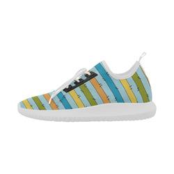 Stripe Dolphin Ultra Light Running Shoes for Women (Model 035)