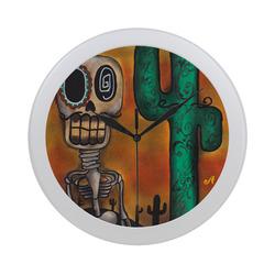 Desert Circular Plastic Wall clock