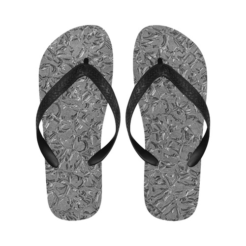 Sparkling Metal Art Db by FeelGood Flip Flops for Men/Women (Model 040)