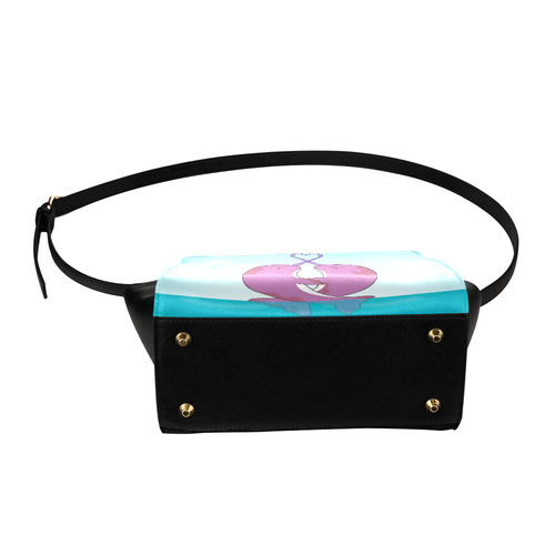 Narwhal Purse Satchel Bag (Model 1635)