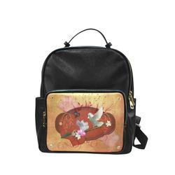 Wonderful dove couple Campus backpack/Large (Model 1650)