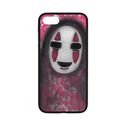 pink Rubber Case for iPhone 7 4.7""