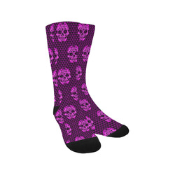 Skull pattern 517 B by JamColors Trouser Socks