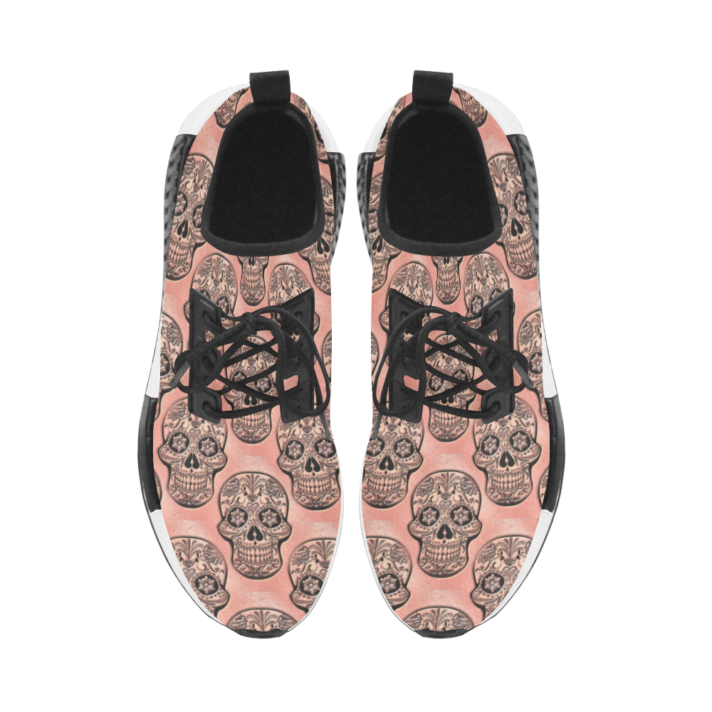 Skull20170522b_by_JAMColors Women's Draco Running Shoes (Model 025)
