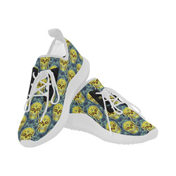 funny skull pattern A by JamColors Dolphin Ultra Light Running Shoes for Women (Model 035)