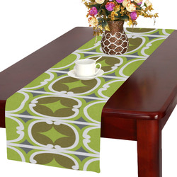 retro lime 25 Table Runner 16x72 inch