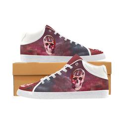 Funny Skulls Men's Chukka Canvas Shoes (Model 003)