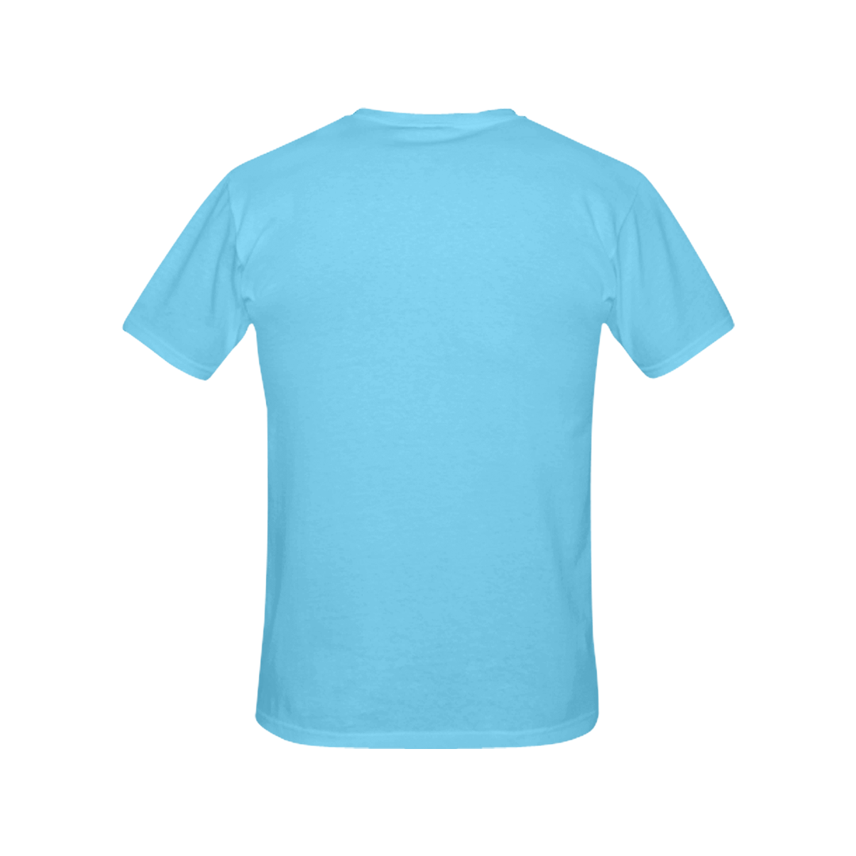Blue All Over Print T-Shirt for Women (USA Size) (Model T40)