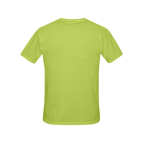 Green All Over Print T-Shirt for Women (USA Size) (Model T40)