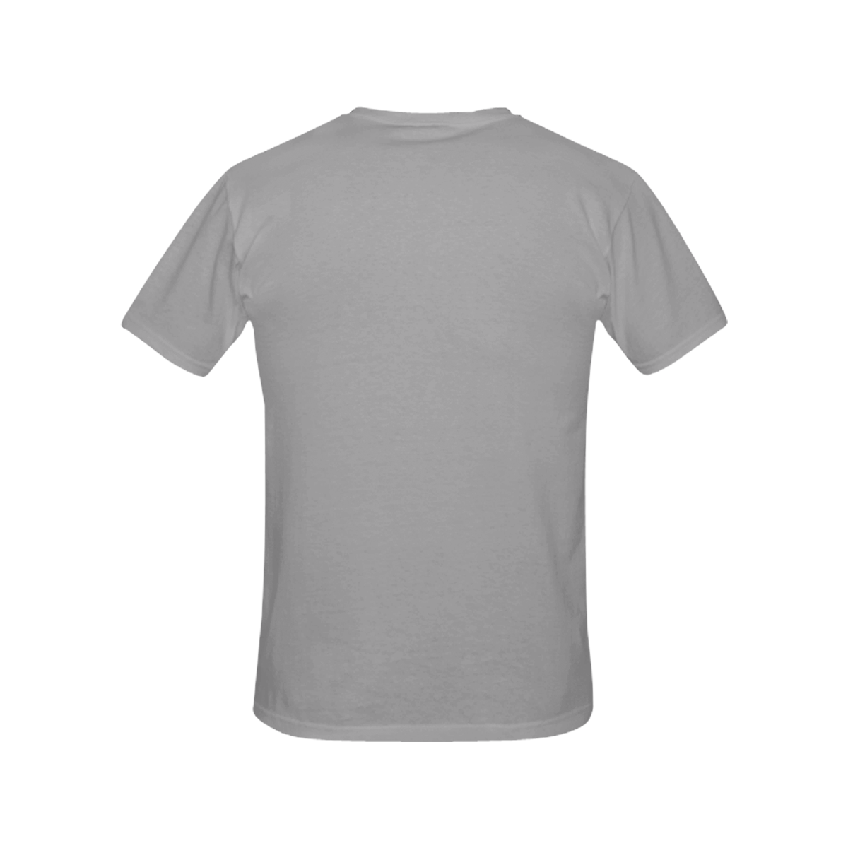 Grey All Over Print T-Shirt for Women (USA Size) (Model T40)