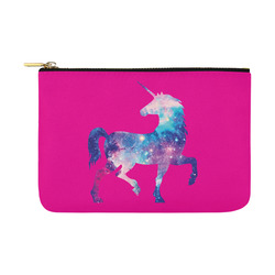Unicorn Universe Pink Carry-All Pouch 12.5''x8.5''