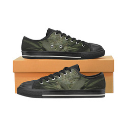 Sour Diesel Women's Classic Canvas Shoes (Model 018)