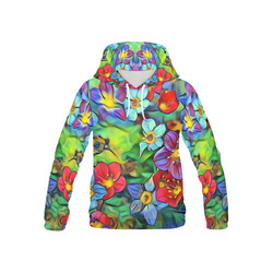 Amazing Floral 29B by FeelGood All Over Print Hoodie for Kid (USA Size) (Model H13)