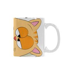 Even Cat Hates Monday White Mug(11OZ)