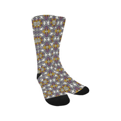 Golden Violet Trouser Socks