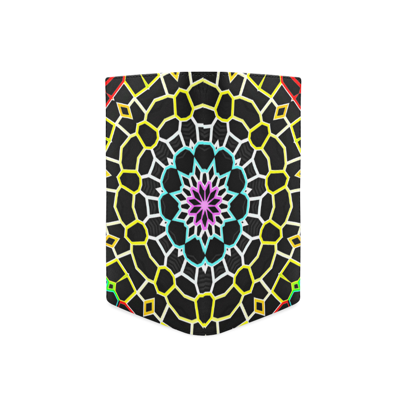 Live Line Mandala Women's Leather Wallet (Model 1611)