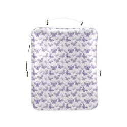 Cute Purple Butterflies Square Backpack (Model 1618)