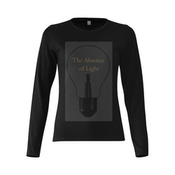 The Absence of Light - Jera Nour Sunny Women's T-shirt (long-sleeve) (Model T07)