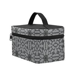Sharkskin Lace Cosmetic Bag/Large (Model 1658)