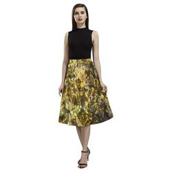 Golden stone texture Aoede Crepe Skirt (Model D16)