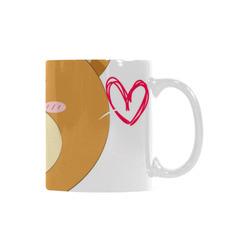 Love My Mama Bear White Mug(11OZ)