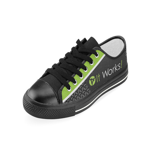 It Works Womens Canvas Shoes Women's Classic Canvas Shoes (Model 018)