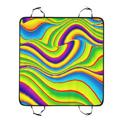 Summer Wave Colors New Pet Car Seat 55''x58''