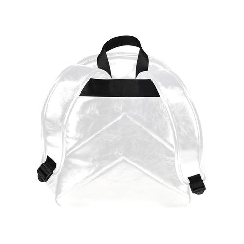 Geometric - Big Multi Color Traingles Multi-Pockets Backpack (Model 1636)