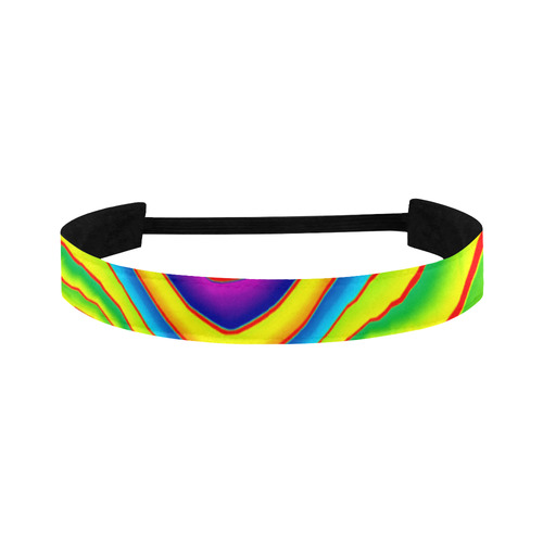 Summer Wave Colors Sports Headband