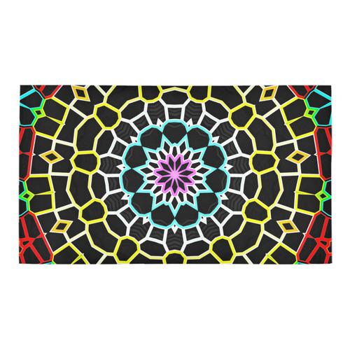 Live Line Mandala Bath Rug 16''x 28''