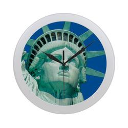Liberty20170212_by_JAMColors Circular Plastic Wall clock