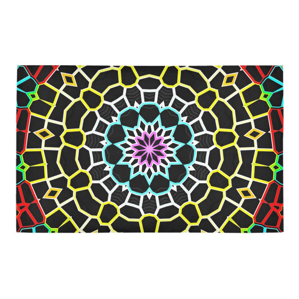 Live Line Mandala Bath Rug 20''x 32''