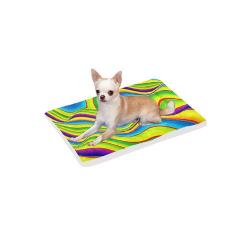 "Summer Wave Colors Pet Bed 24""x13"""