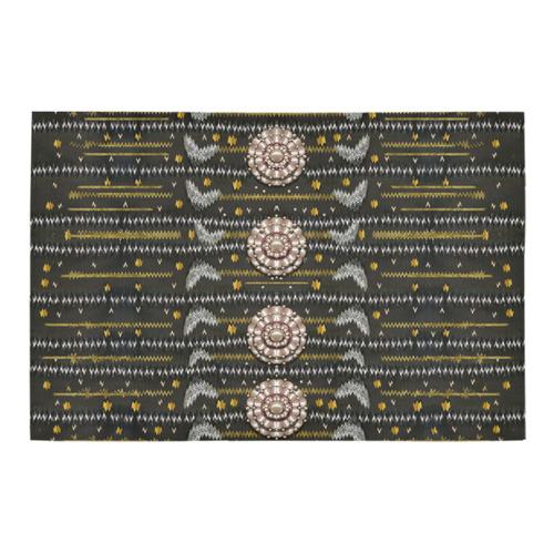 """Pearls and hearts of love in harmony pop art Azalea Doormat 24"""" x 16"""" (Sponge Material)"""