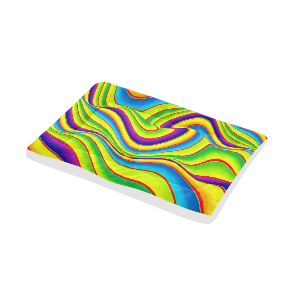 "Summer Wave Colors Pet Bed 42""x26"""