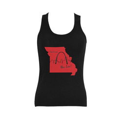 I'm from tha Lou Women's Shoulder-Free Tank Top (Model T35)