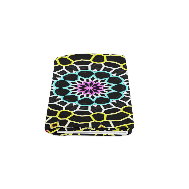 "Live Line Mandala Blanket 50""x60"""