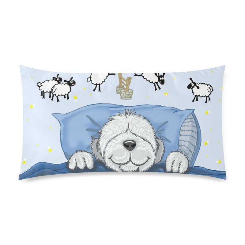 "SLeep Tight Custom Rectangle Pillow Case 20""x36"" (one side)"