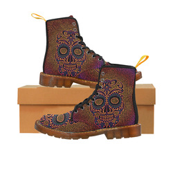 Skull20170534_by_JAMColors Martin Boots For Women Model 1203H