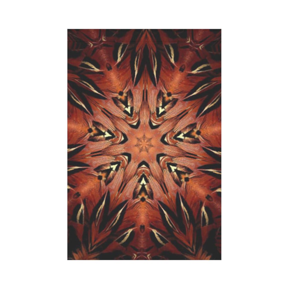 Flaming Feather Kaleidoscope Garden Flag 12''x18''(Without Flagpole)