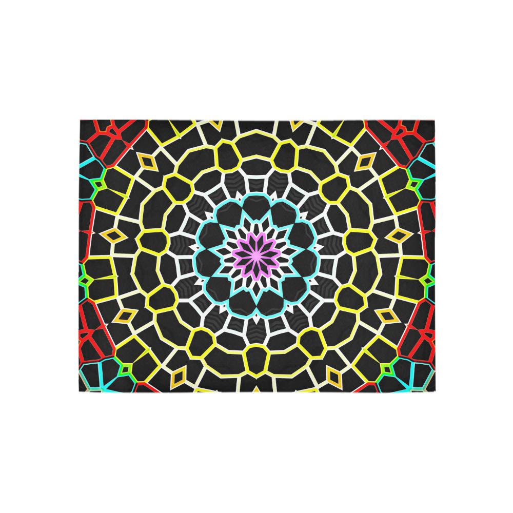 Live Line Mandala Area Rug 5'3''x4'